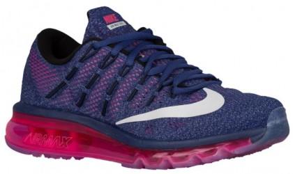Nike Air Max 2016 - Dark Purple Dust/Pink Pow/Blue Graphite/White - Ladies Running Shoes