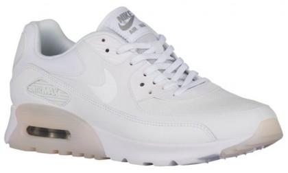 Nike Sportswear Air Max 90 Ultra Essentials - White/Metallic Silver - Ladies Running Shoes