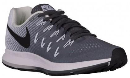 Nike Performance Air Zoom Pegasus 33 - Dark Grey/White/Black - Women's Neutral Running Shoes