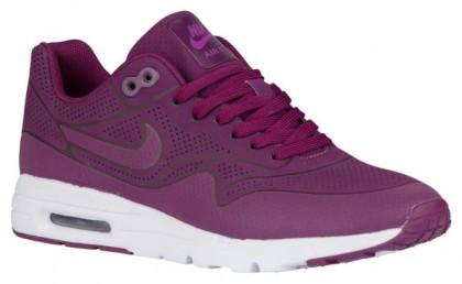 93c1b59da Nike Air Max 1 Ultra Moire - Ladies Trainers - Mulberry Purple Dusk White