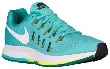 Nike Performance Air Zoom Pegasus 33 Hypernational - Women's Neutral Running Shoes - Hyper Turquoise/Clear Jade/Volt/White