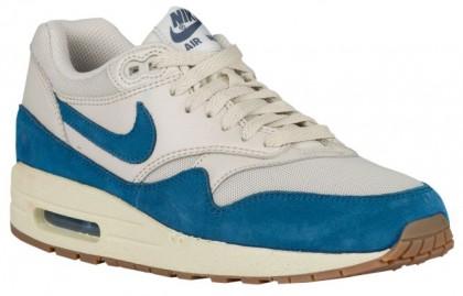 Nike Sportswear Air Max 1 Essential - Ladies Running Shoes - Light Brown/Brigade Blue/Sail/Gum Medium Brown