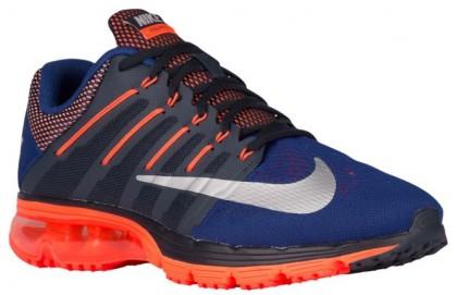 Nike Sportswear Air Max Excellerate 4 - Dark Obsidian/Deep Royal Blue/Metallic Silver - Men's Running Shoe